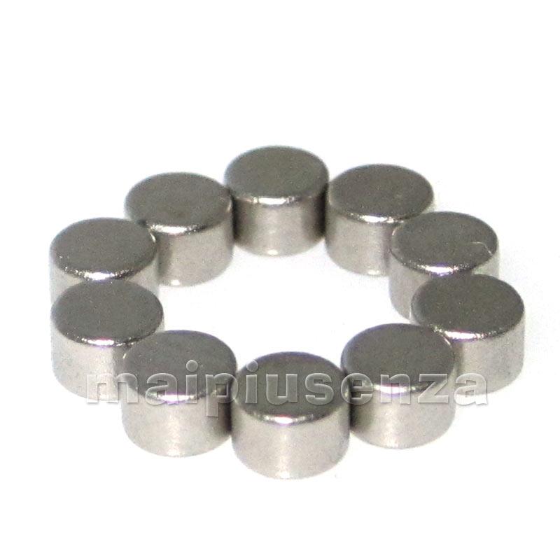 20 magneti calamite potenti DISCO 3x2 mm magnete calamita NEODIMIO - regge 235g  eBay